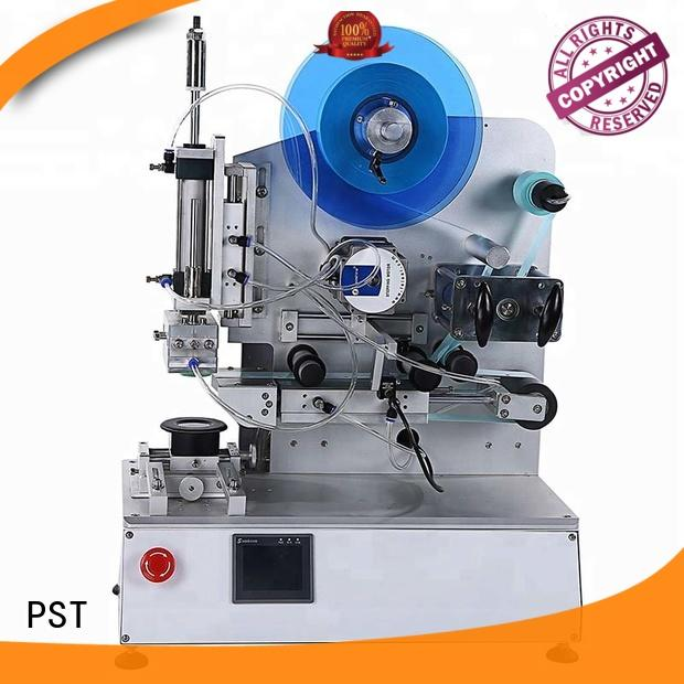 PST precision labeling equipment for round bottles