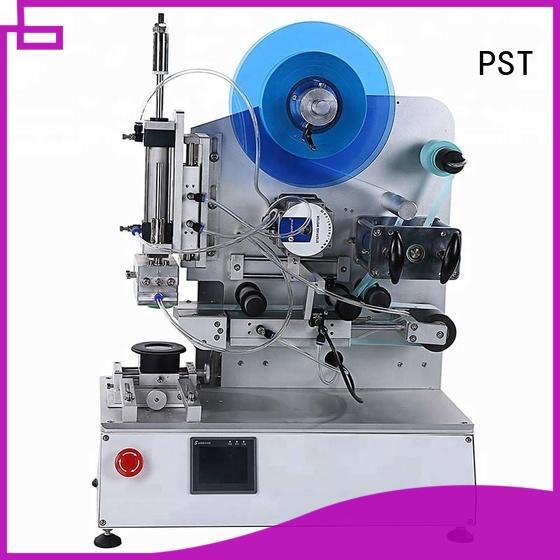 PST flat labeling machine supply for box corner