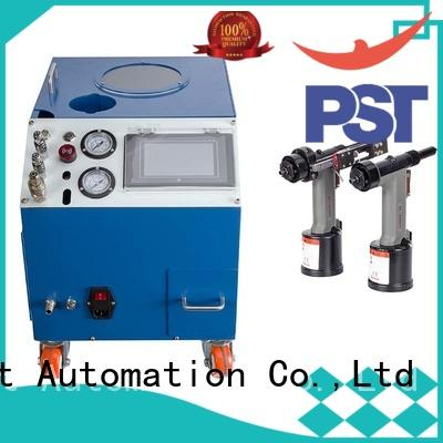PST automatic pop rivet machine company for flight case