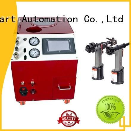 automatic pop rivet machine error prevention for flight case PST
