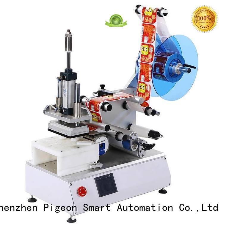 professional flat labeling machine with custom service for box corner