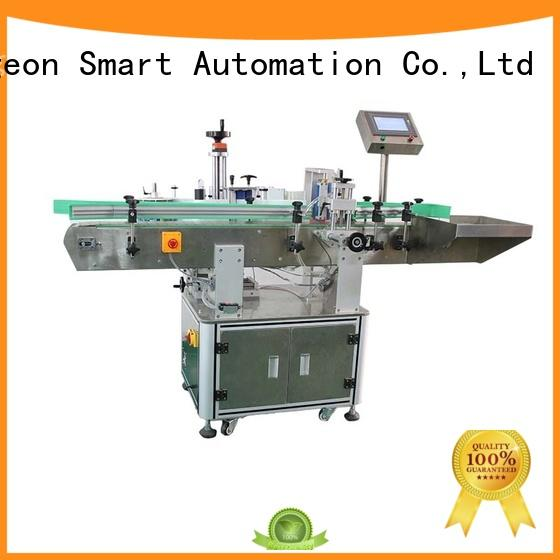 semi automatic labeling machine bucket for square bottles PST