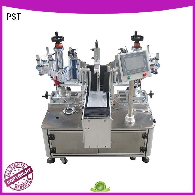 precision label application machine with label sensor for cards PST