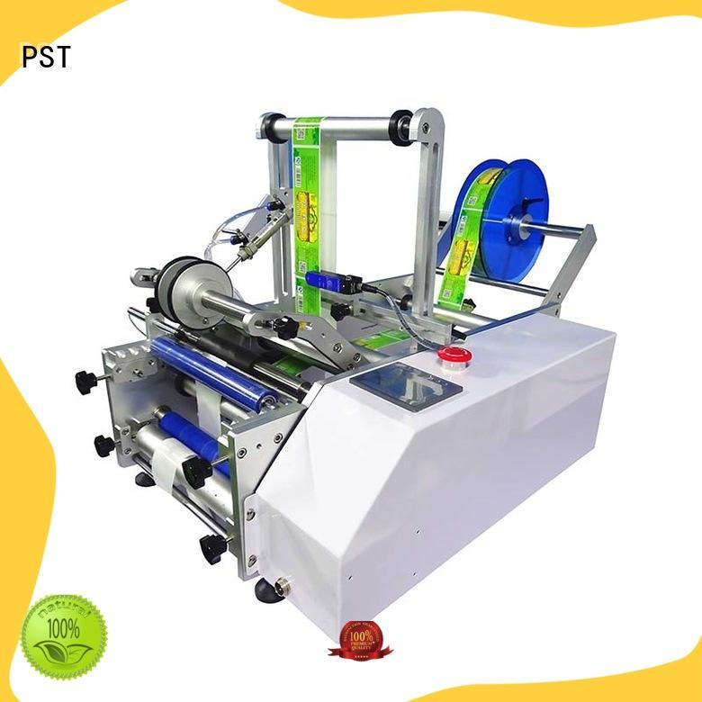 automatic label applicator machine box PST