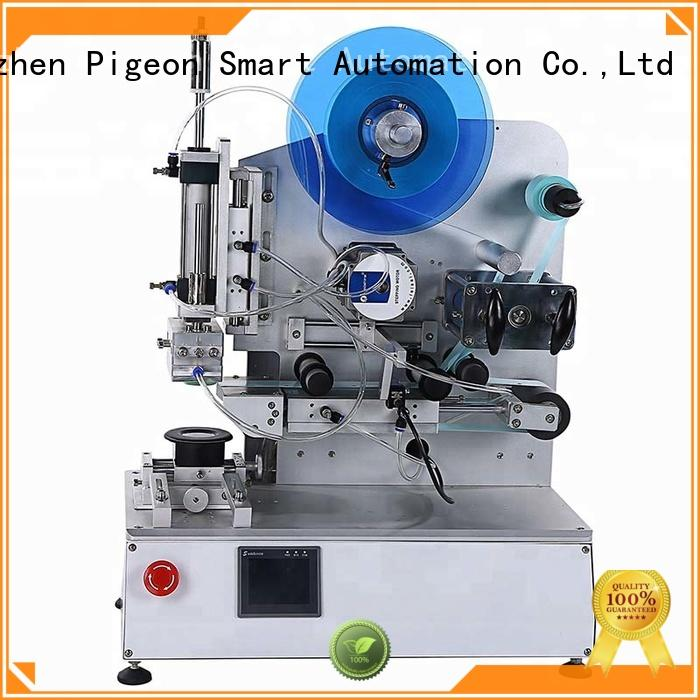 PST excellent labeling equipment with label sensor for industry