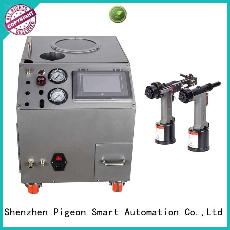 pneumatic riveting machine for blind rivets PST