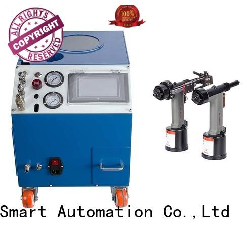 PST high speed auto feed riveting machine for computer terminal case