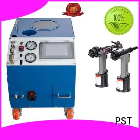PST silver color electric riveting machine error prevention for flight case