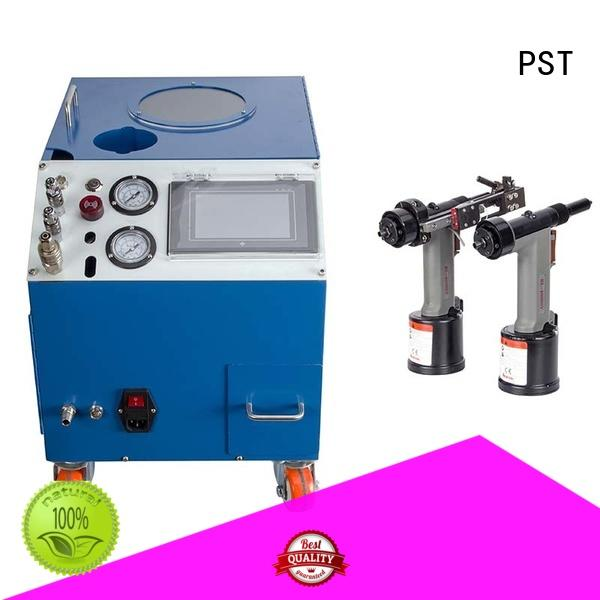 PST error prevention pneumatic riveting machine excellent for blind rivets