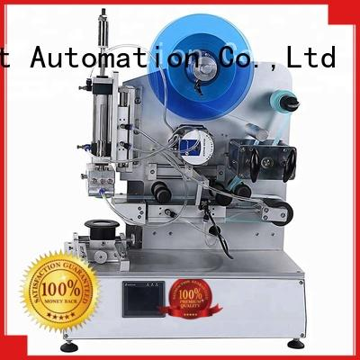 PST high quality semi automatic flat labeling machine with custom service for sale