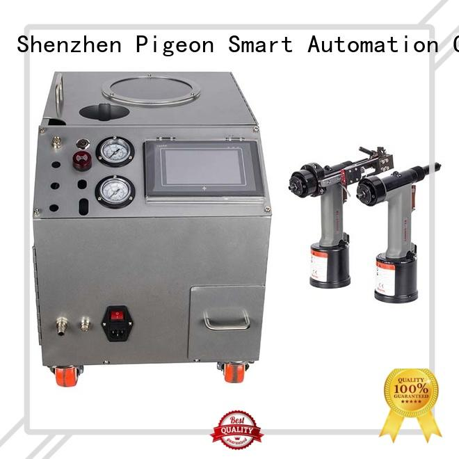PST auto riveting machine supplier for computer terminal case